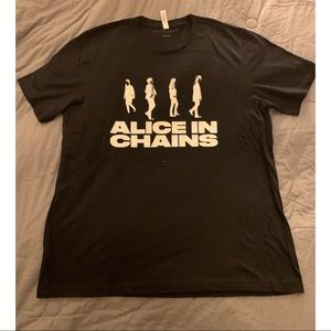 Alice In Chains Concert Tee Size XL 2019 T-shirt